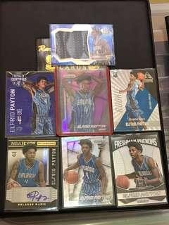 NBA Cards Lot Elfrid Payton Rookie Cards