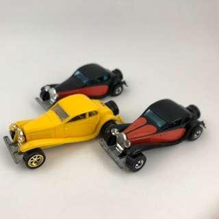 Hot Wheels Bugatti Exclusive lot