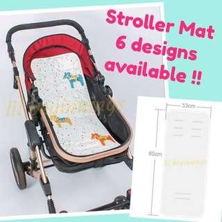 Stroller Cushion (6 designs) Pad Mat Liner