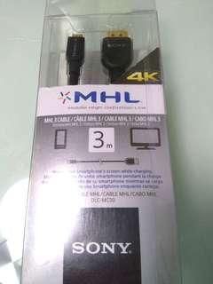 全新Sony MHL 線 3m