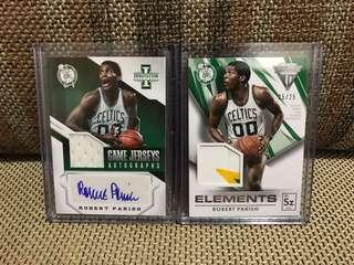 NBA Card Robert Parish Autograph