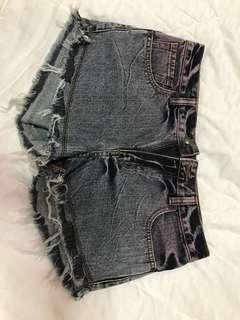 Ombre shorts