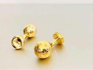 Charles Tyrwhitt Golden Ball Cufflink