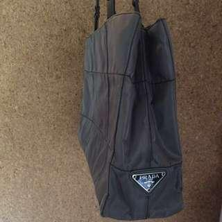 SALE 🌟Auth PRADA Bag Tessuto Grey shade Excellent condition