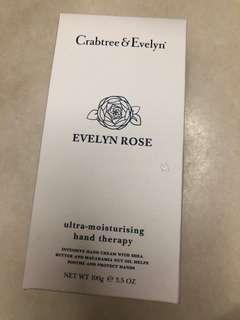 Crabtree & Evelyn Evelyn Rose Ultra Moisturising hand therapy