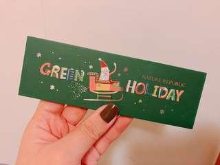 Nature Republic Green Holiday Special Edition Eyeshadow Palette