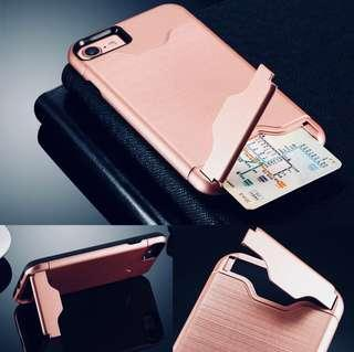 iPhone Samsung Android Kickstand + Card Holder Cover