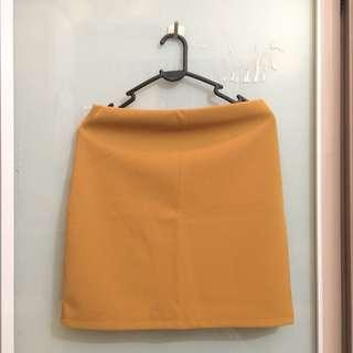 Skirt (yellow & black)