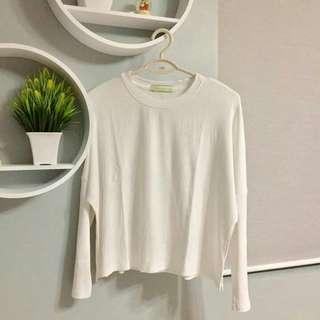 Oversized sweater blouse