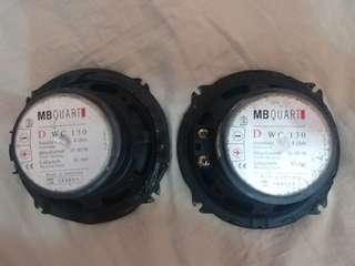 MB QUART MADE IN GERMANY FRONT CAR SPEAKERS