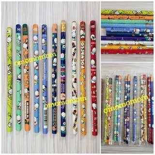 Sanrio pc狗 pochacco 鉛筆10枝