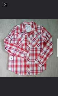 GUESS Checkered Shiry