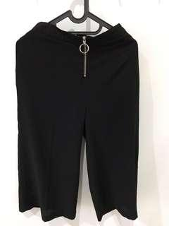 Celana cullote hitam merk et cetera