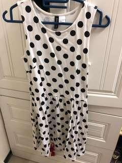 Polka Dot Dress H&M