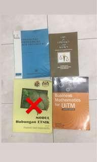 Law Books, Accounting books