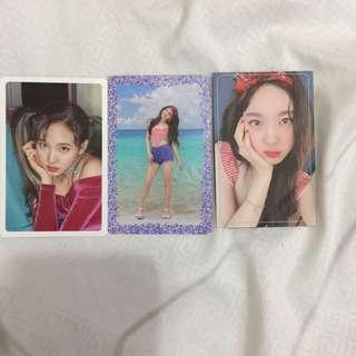 Twice's Nayeon,Jeongyeon and Jihyo photocard