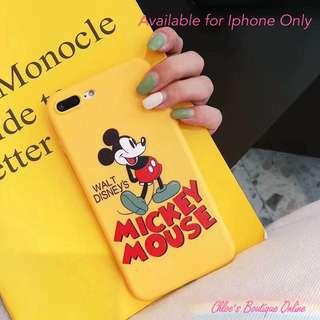 TB038 PREORDER - Mickey Mouse Series Iphone Soft Case