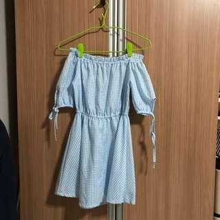BN Babydoll Checkered Dress