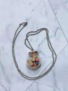 🚚 👍 Handmade Gem Biscuit Necklace 👍