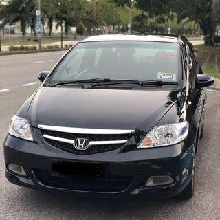 2008 Honda City E Modulo 4D Sedan Automatic 1.5 VTEC