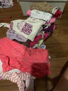 Mothercare Sleepsuit and home clothes