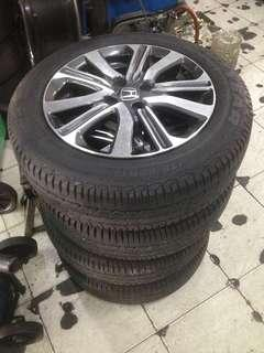 """Sport rim with tyre 15"""""""
