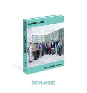 WTS Unsealed Wanna One Power Of Destiny Romance Ver