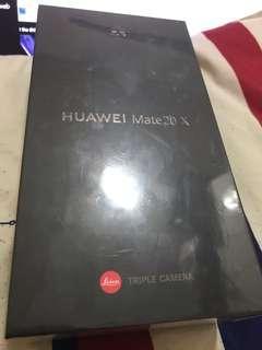 Huawei Mate20 X 6GB RAM+128GB ROM 銀色