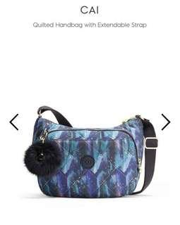Kipling Cai Sling Bag in Painted Sky