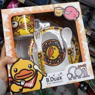 B.Duck 兒童餐具5件套裝新年送禮不失禮