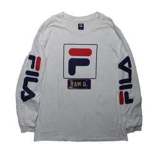 Fila Heritage Logo Long sleeves size L
