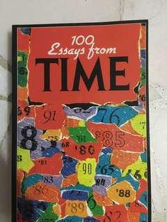 100 essays from TIME