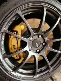 Vw mk6 R brake kit