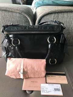 93b576604209 Miu Miu Vitello Lux Bow Bag