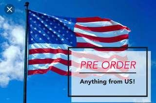 Pre Order anything from US USA United States Las Vegas New York