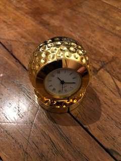 Gold Golf Ball Pocket Watch
