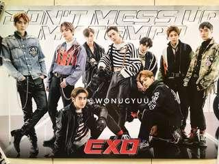 WTS EXO VIVACE OFFICIAL POSTER