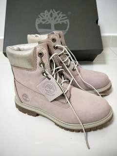Timberland Boots (Light Pink colour)