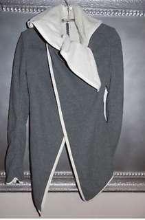 Lululemon Sherpa lined wrap jacket