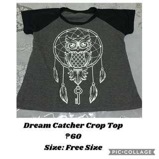 Dream Catcher Crop Top