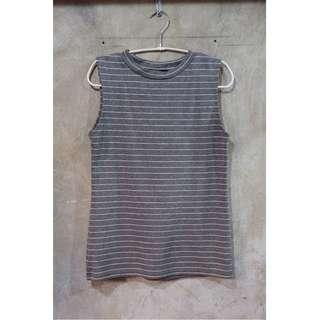 Pre-loved Stripes Sleeveless Top