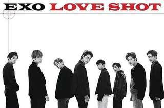 EXO LOVE SHOT Official Poster