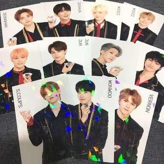 [RARE] OFFICIAL SEVENTEEN IDEAL CUT IN JAPAN TRADING CARDS | Rare Holographic