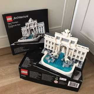 (Lego Architecture) Trevi Fountain 21020