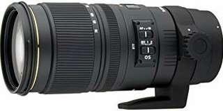 Sigma 70-200, f2.8 Ex DG Nikon Mount