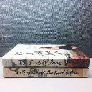 To All the Boys I've Loved Before and P.S. I Still Love You by Jenny Han