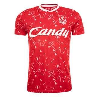 🚚 LFC Candy 89-91 Retro Home Shirt
