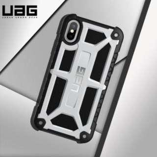 Iphone XR UAG monarch series black and silver casing
