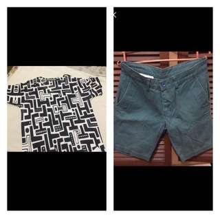 Branded Shirt and Shorts Terno!