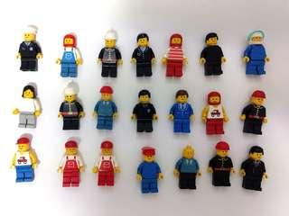 Vintage LEGO Figures from 1980s